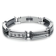 Virgin Shine Stainless Steel Chunk Combination Curved Lines Bracelet VIRGIN SHINE http://www.amazon.com/dp/B00NUE1H96/ref=cm_sw_r_pi_dp_Ur.Rub1X8XNGH