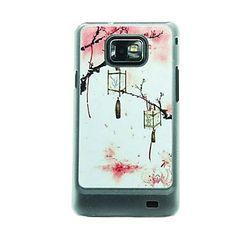 De Lantaarn Opknoping Op De Boom Leer Ader patroon harde Case voor Samsung Galaxy S2 I9100 – EUR € 3.67