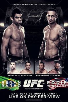 UFC Saturday June 15th  Barao vs Wineland  8:00 PM  3.00 Cover  Call for Reservations Today 254-953-7412