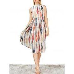 #Valentines #AdoreWe #trendsgal.com - #Trendsgal Printed Chiffon Dress - AdoreWe.com