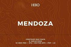 Mendoza Topographic Maps Celebrates Argentinas Wine Country -... Topographic Map, Mendoza, Wine Country, Maps, Cloud, Cards, Map