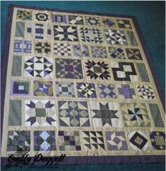 alternate layout for women of the bible quilt