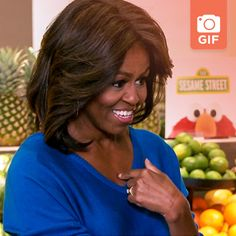 There are 12 (12!) gifs of Big Bird, Michelle Obama, Billy Eichner, and Elena waiting for you if you click this: http://www.funnyordie.com/articles/8fffb2d6f8/8-gifs-from-the-flotus-video-you-need-to-see-asap
