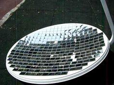 PARABOLIC DISH MIRROR - PARABOLOID DIY REFLECTOR Solar death ray satellite antenna - YouTube