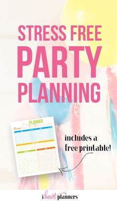Starting your own party planning business