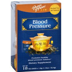 Prince of Peace Tea - Herbal - Blood Pressure - 18 Bags - Since 1983 Prince of Peace has been a pioneer of Oriental herbal tea products in U.S. We produce high quality teas from natural sources. Safety efficacy and high potency are the trademarks of our teas. Our proprietary herbal blends are exclusively formulated by our renowned traditional Chinese herb experts. You will feel the difference this herbal tea can make.Prince of Peace Blood Pressure Tea was developed by experts specialize in…