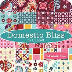 Domestic Bliss by Liz Scott for Moda