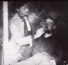 In the American Civil War, soldiers were required to have at least four opposing front teeth, so that they could open a gunpowder pouch. Some draftees had their front teeth removed to avoid service.