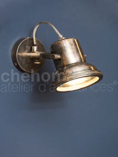 Applique Murale Spot Finition Nickel Style Factory Chehoma