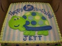 First Birthday Turtle