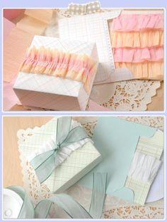 adornos con papel crespon