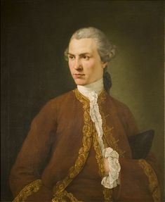 An unknown young man, Ramsay, Allan, 18th century, Oil on canvas. Bequeathed by Claude D. Rotch.