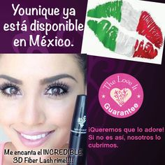 I'm so excited to announce that starting TODAY, Younique can be purchased from Mexico!!! #makeup #mascara #rimel #maquillaje #pestanas