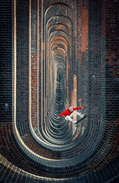 Playground  |  Lorenz Holder captured Vladic Scholz in the surreal Ouse Valley Viaduct in South England.