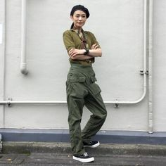 anatomica_tokyoToday's style. Tops:anatomica#skipper Pants:#military  Hat:#military  Shoes:anatomica##wakouwa Scarf:#msrs