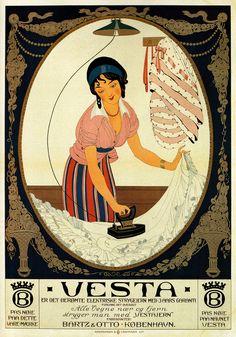 Gerda Wegener - Strygehjernet Vesta - 1912