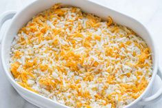 Creamy Chicken and Cauliflower Rice Casserole - A quick, easy, and over the top tasty dinner - gluten free, keto, low carb friendly Cauliflower Rice Casserole, Chicken Cauliflower, Keto Casserole, Creamy Chicken, Cauliflower Recipes, Casserole Recipes, Chicken Casserole, Hamburger Casserole, Low Carb Recipes