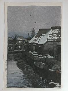 HASUI-Lingering-Snow-in-Urayasu-1932