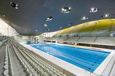 Inside the Aquatic Centre