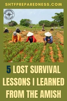 These are five lost survival methods that I have learned from the Amish. The Amish may be famous for their traditional way of living, their amazing bread and potato salad recipes, and their unique clothing, but their survival methods are brilliant and should be brought back into the mainstream. Check out this post now for more details. #amishsurvival #bestsurvivalmethods #goodsurvivalmethods #traditionalsurvivalmethods