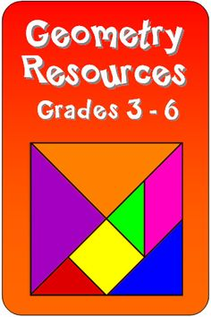 Geometry resources in Laura Candler's online file cabinet - loads of free resources and engaging activities for grades 3 through 6!