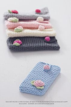 How To Create A Crochet iPhone Cover
