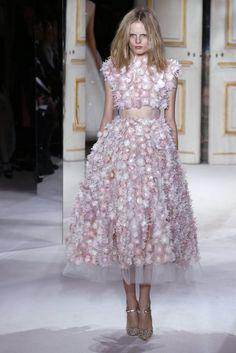 Hanne Gaby in Giambattista Valli Couture Spring 2013