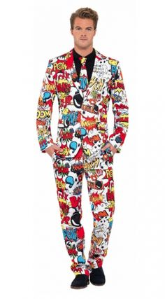 Comic Strip Costume - Mens Costumes