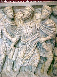 Arte Paleocristiano. Escultura funeraria