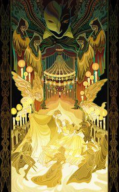 The Phantom of the Opera by KibiQeQ