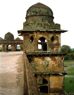 Mandu, India.... An abandoned city. Mandu or Mandavgad is a ruined city in the present-day Mandav area of the Dhar district. The earliest reference to Mandu is available in the Sanskrit inscription of 555 AD, which tells that Mandu was a fortified city even in 6th century BC.