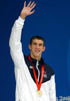 """""""Phelps was diagnosed with ADHD when he was 9 years old. Phelps had trouble concentrating in school, his mother said, but personally prescribed medication and swimming helped Phelps manage the disorder.""""   Click the image for an article in the Guardian Newspaper.   From - http://health.discovery.com/tv/psych-week/articles/celebrities-mental-disorders-08.html"""