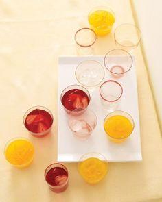 fruit punch, baby shower ideas, baby shower drinks, strawberri, iced tea, brunch, strawberry lemonade, drink recipes, baby showers
