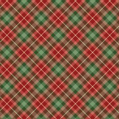 Items similar to Plaid & other Christmas Digital Papers, Scrapbooking, Card Making, Web Design, Printable on Etsy