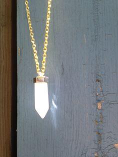 Angel Crystal Quarts Pendulum by TheWanderingFairie on Etsy Arrow Necklace, My Etsy Shop, Angel, Crystals, Creative, Handmade, Vintage, Jewelry, Hand Made