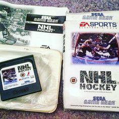 silentbod: #CIB #CIBSunday #NHLHockey #Sega #GameGear #NHL #EASports #Retro #Gamer #RetroGaming #TheBodCave #gamegear #microobbit