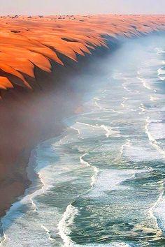 Where the Namib Dese