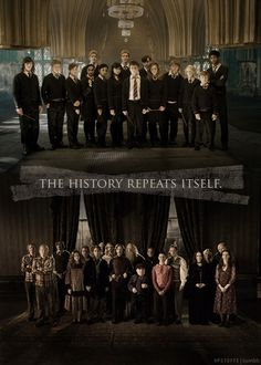 History repeats itself <3 Order of the Phoenix & Dumbledore's Army.