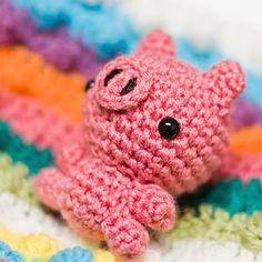 Mini Pig Amigurumi Free Download Pattern