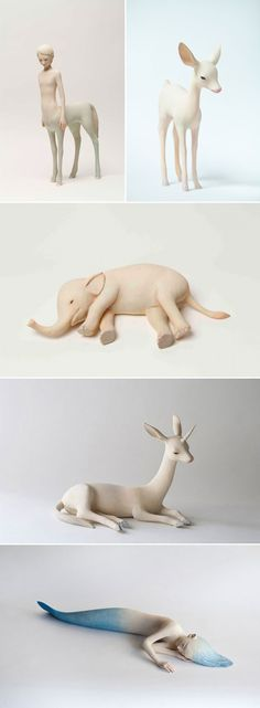 Yoshimasa Tsuchiya's beautiful sculptures