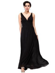 ae70f382bc5 Ever Pretty Elegant V-neck Long Chiffon Crystal Maxi Evening Dress 09016  luxurious sexy dress
