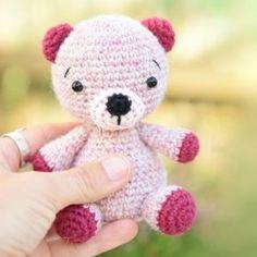 Alpaca teddy bear amigurumi pattern