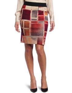Karen Kane Women`s Block Print Pencil Skirt $62.10