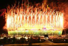 london 2012, london olymp, london night, fireworks, olymp 2012