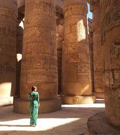 El antiguo Egipcio no nos deja de sorprender... ☀️ #templekarnak
