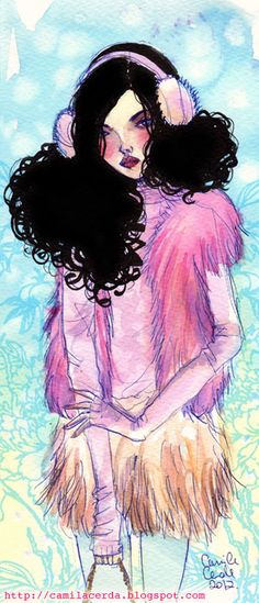 Camila Cerda Illustration: Blugirl