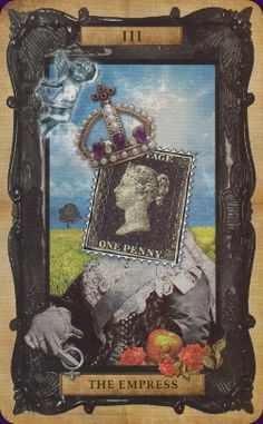The Empress - Victorian Steampunk Tarot by Liz Dean, Beverley Speight Aphrodite, The Emperor Tarot, Tarrot Cards, Love Tarot, Tarot Major Arcana, Black Grunge, Oracle Tarot, Tarot Card Decks, The Empress