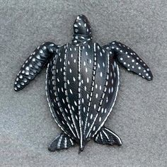 leatherback sea turtle one of 7 species that are critically endangered