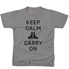 Keep Calm Gunmetal Edition Tshirt