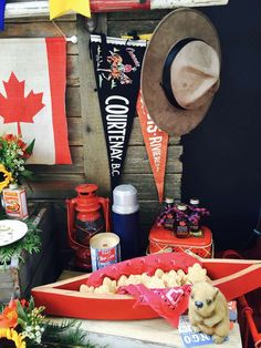 You have to see this Canada Day party! See more party planning ideas at CatchMyParty.com!